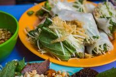 Wietnamski uliczny jedzenie Fotografia Royalty Free