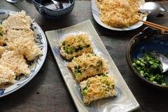 Wietnamski uliczny jedzenie, com chay cha bong Zdjęcie Royalty Free