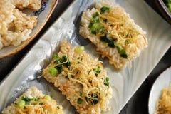 Wietnamski uliczny jedzenie, com chay cha bong Obrazy Royalty Free