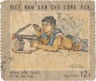 Wietnamski znaczek pocztowy Zdjęcie Stock