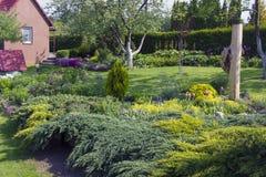 Świetny europejczyka ogród Zdjęcie Stock