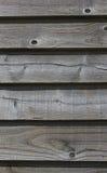 Wietrzeć drewniane piórkowe krawędzi deski Zdjęcia Royalty Free