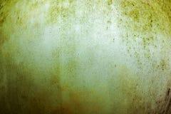 Wietrzeć Pleśniowe Grungy tekstury na Round Ogrodowej lampie Zdjęcie Royalty Free