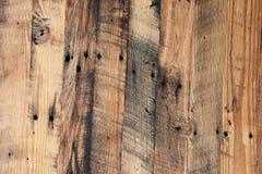 Wietrzeć drewno deski Obraz Royalty Free