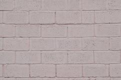Wietrzejąca i plamiąca barwiona menchia bloku ściany tekstura Obrazy Stock