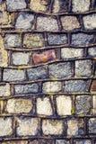 wietrzejąca kamienna tło ściana Fotografia Royalty Free