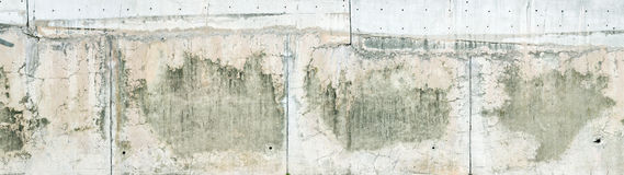 wietrzejąca tekstury betonowa ściana Obrazy Stock