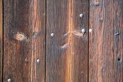 Wietrzejący drewniany deski stajni ściany tło Zdjęcia Stock