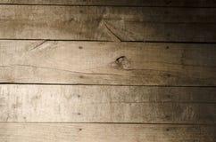 Wietrzejący drewniany tło Obrazy Royalty Free
