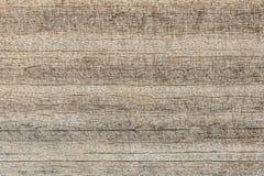Wietrzejący Drewniany tekstury tło, pęknięcie wzór Zdjęcie Royalty Free