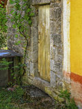 Wietrzejący wejście zdjęcie royalty free