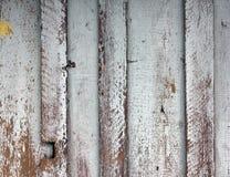 Wietrzeję malował drewnianą ścienną teksturę Obrazy Stock