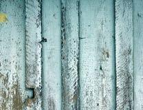 Wietrzeję malował drewnianą ścienną teksturę Zdjęcia Stock