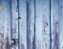 Wietrzeję malował drewnianą ścienną teksturę Obraz Stock