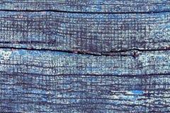 Wietrzeję malował drewnianą teksturę Zdjęcie Stock
