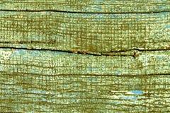 Wietrzeję malował drewnianą teksturę Obraz Stock