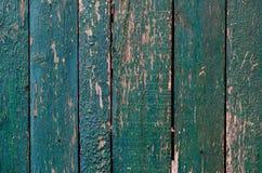 Wietrzeję malował drewniane deski Obraz Royalty Free