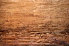 Wietrzeję spitted drewnianą teksturę z pęknięciami struktura Obraz Royalty Free