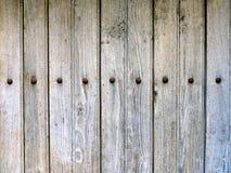 Wietrzeję starzał się popielatą drewnianą teksturę Fotografia Royalty Free
