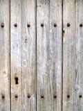 Wietrzeję starzał się popielatą drewnianą teksturę Fotografia Stock