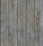 Wietrzejąca Szara Pionowo Drewniana Bezszwowa tekstura Obraz Stock
