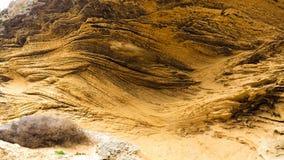 Wietrzejący czerwony piaskowiec Fotografia Royalty Free