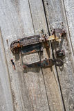 Wietrzejący stajnia drzwiowi zawiasy, zapadka, okno, Zdjęcie Royalty Free