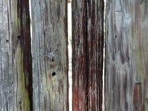 Wietrzejący Stockade fortu ogrodzenie Obrazy Stock