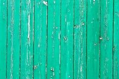 Wietrzejący zielony drewno Obraz Stock