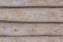 Wietrzeję spitted drewnianego tekstury bacground Zdjęcie Stock