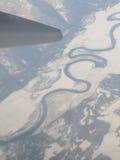Wietrzna rzeka Obrazy Royalty Free