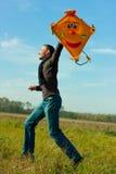 wietrzny jesień spadek Zdjęcie Stock