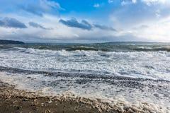 Wietrzny Puget Sound Obraz Royalty Free