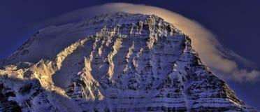 Wietrzny szczyt Obraz Royalty Free