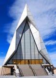 wietrzy fasadową kaplicy siłę Zdjęcia Royalty Free