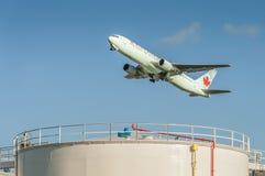Wietrzy Kanada Boeing 767 Zdjęcia Royalty Free