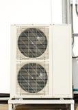 wietrzy warunek kondensatorową jednostkę Zdjęcia Royalty Free