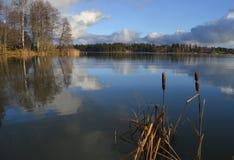 Wiev del lago Fotografie Stock