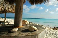 Wiev des tropischen Strandes Lizenzfreie Stockfotografie