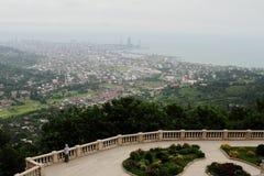 Wiev di Batumi Fotografie Stock