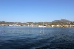 Wiev do mar da cidade de Marmaris Foto de Stock Royalty Free