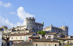 Wiew of Costigliole d'Asti Royalty Free Stock Image