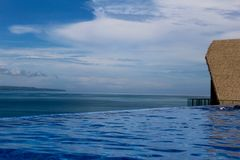 Wiew hermoso en la isla Indonesia del gili Fotografía de archivo libre de regalías