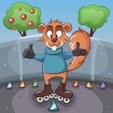Wiewiórcza ilustracja Obraz Stock