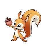 Wiewiórcza maskotka Obraz Stock