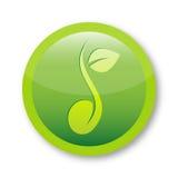Świeży nasieniodajny loga symbol Zdjęcie Royalty Free