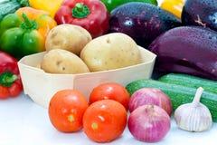 świezi asortymentów warzywa Obrazy Stock