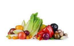 świezi grupowi warzywa Zdjęcia Stock