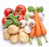 świezi grupowi warzywa Obrazy Stock