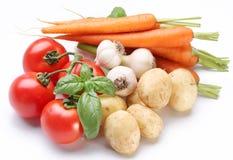 świezi grupowi warzywa Zdjęcie Royalty Free